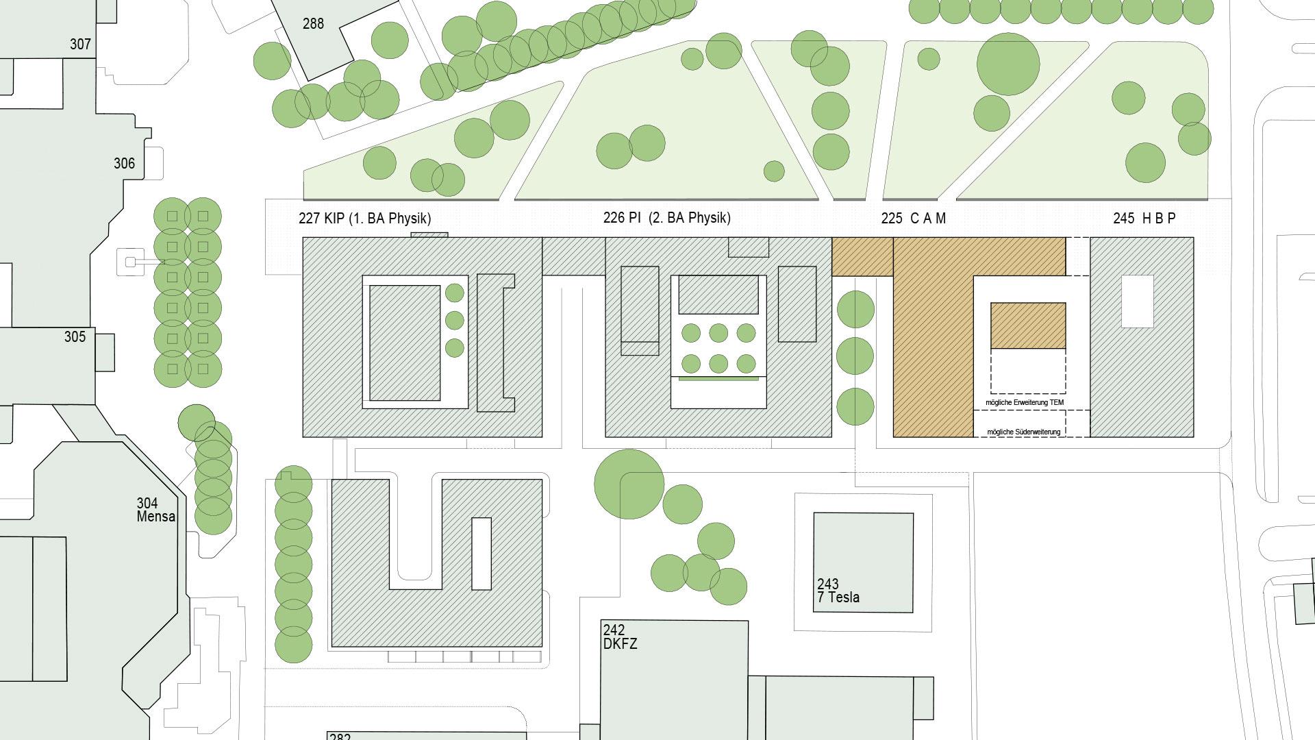 Materialforschung (CAM) Heidelberg 4 - ArGe Architekten