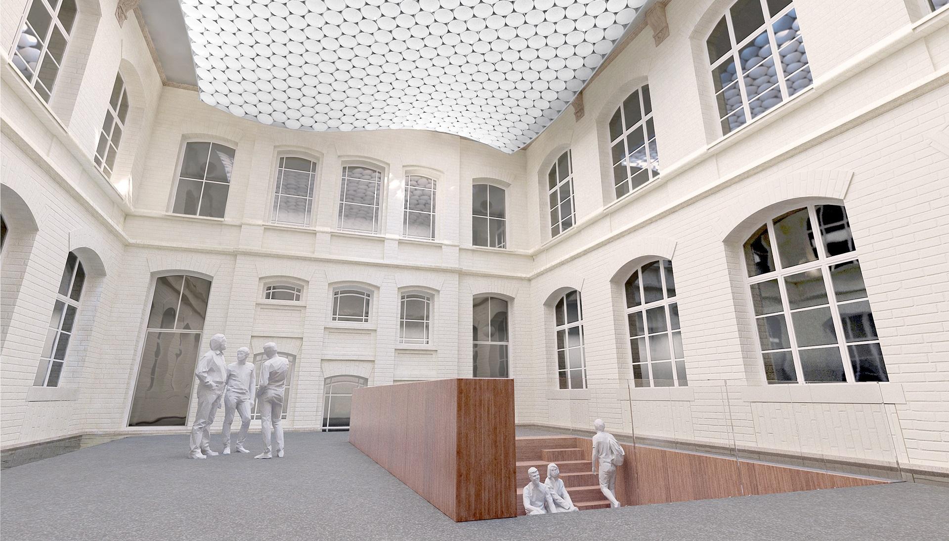 Forum Physik TU Darmstadt 1 - ArGe Architekten