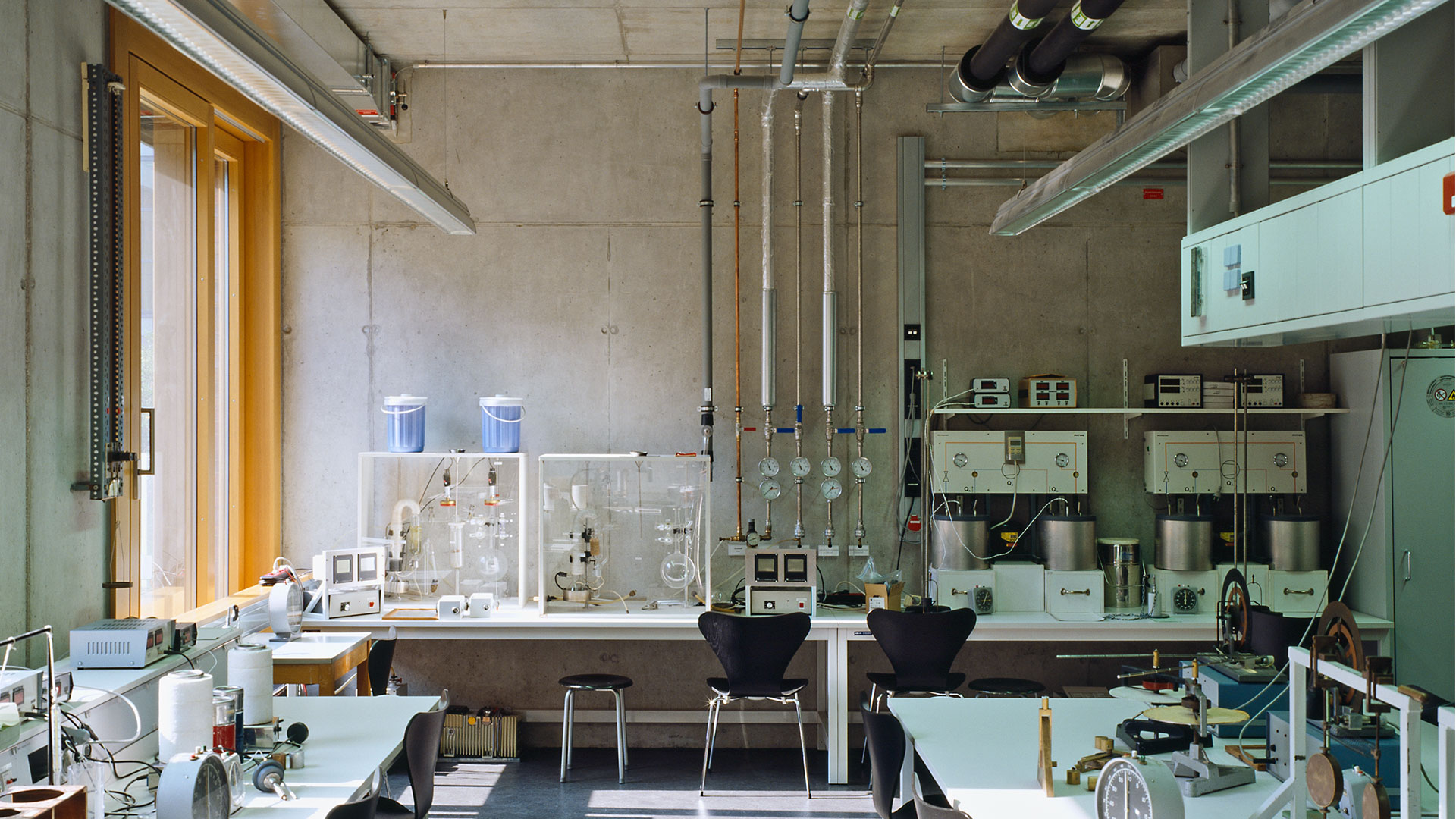 Physikalisches Institut Frankfurt 3 - ArGe Architekten